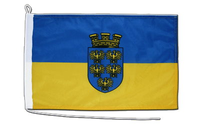 Lower Austria  Boat Flag 12x18""