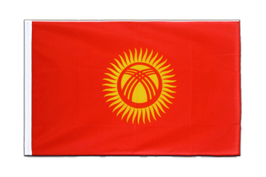 Kyrgyzstan Sleeved Flag ECO 2x3 ft