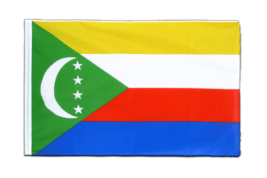 Comoros Sleeved Flag ECO 2x3 ft