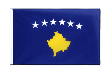 Kosovo Sleeved Flag ECO 2x3 ft