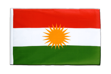 Kurdistan Sleeved Flag ECO 2x3 ft