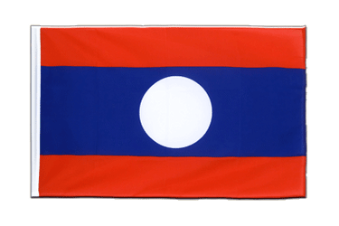 Laos Sleeved Flag ECO 2x3 ft