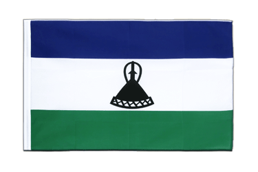 Lesotho new Sleeved Flag ECO 2x3 ft