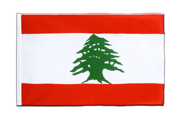 Lebanon Sleeved Flag ECO 2x3 ft