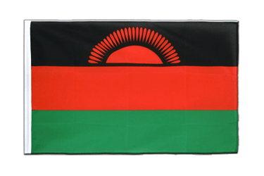 Malawi Sleeved Flag ECO 2x3 ft