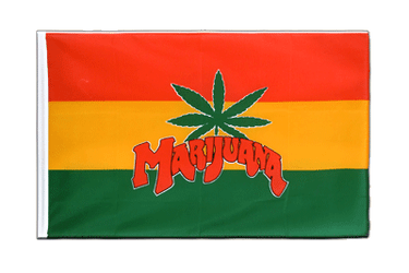 Marijuana Sleeved Flag ECO 2x3 ft