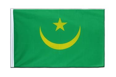 Mauritania - Sleeved Flag ECO 2x3 ft