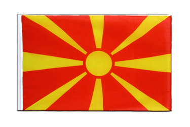 Macedonia Sleeved Flag ECO 2x3 ft