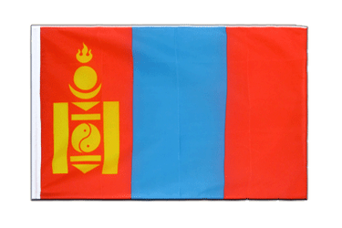 Mongolia Sleeved Flag ECO 2x3 ft