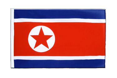 North corea Sleeved Flag ECO 2x3 ft