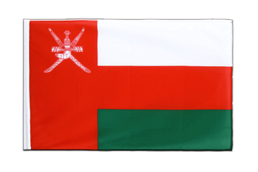 Oman Sleeved Flag ECO 2x3 ft