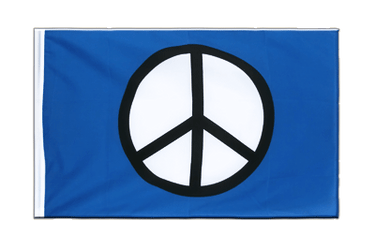 Peace CND Sleeved Flag ECO 2x3 ft