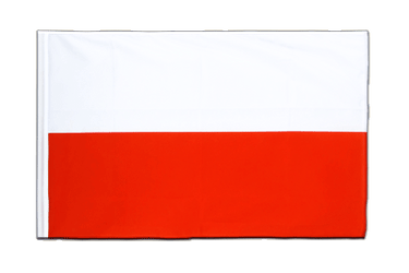 Poland Sleeved Flag ECO 2x3 ft