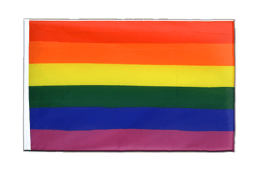 Rainbow - Sleeved Flag ECO 2x3 ft