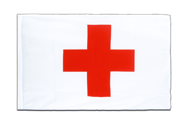 Red Cross Sleeved Flag ECO 2x3 ft
