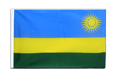 Rwanda Sleeved Flag ECO 2x3 ft