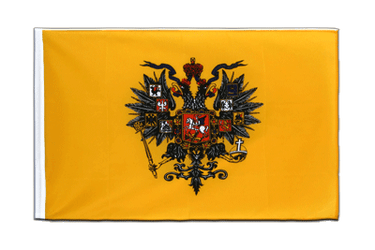 Russia Tsar Nicholas Sleeved Flag ECO 2x3 ft