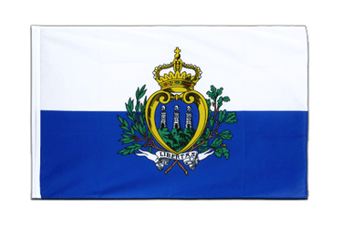 San Marino Sleeved Flag ECO 2x3 ft