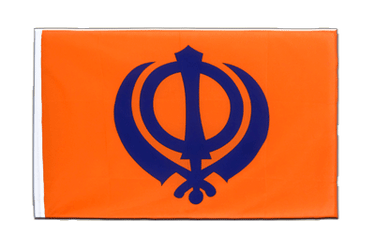 Sikhism Sleeved Flag ECO 2x3 ft