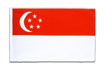 Singapore Sleeved Flag ECO 2x3 ft