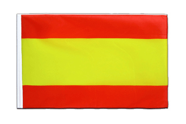 Spain without crest Sleeved Flag ECO 2x3 ft