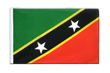 Saint Kitts and Nevis - Sleeved Flag ECO 2x3 ft