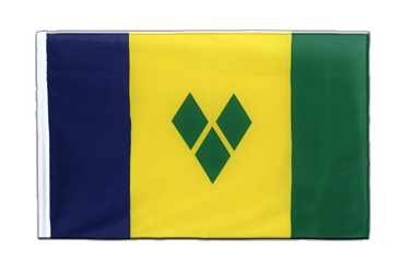 Saint Vincent and the Grenadines Sleeved Flag ECO 2x3 ft
