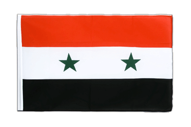 Syria Sleeved Flag ECO 2x3 ft