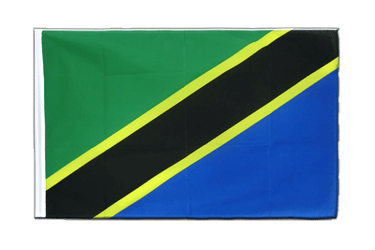 Tanzania Sleeved Flag ECO 2x3 ft