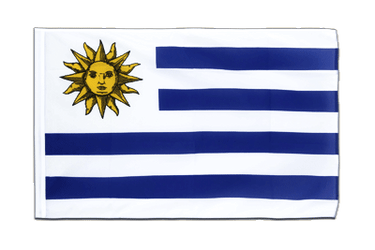 Uruguay Sleeved Flag ECO 2x3 ft