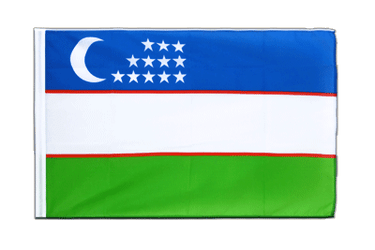 Uzbekistan Sleeved Flag ECO 2x3 ft