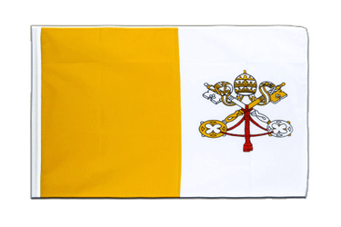 Vatican Sleeved Flag ECO 2x3 ft