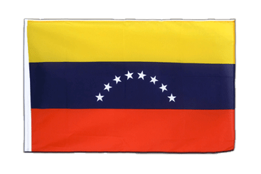 Venezuela 8 stars - Sleeved Flag ECO 2x3 ft