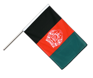 Afghanistan - Hand Waving Flag ECO 2x3 ft