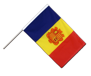 Andorra Hand Waving Flag ECO 2x3 ft