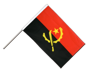 Angola Hand Waving Flag ECO 2x3 ft