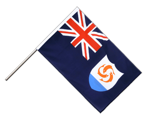 Anguilla Hand Waving Flag ECO 2x3 ft