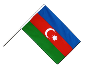 Azerbaijan - Hand Waving Flag ECO 2x3 ft