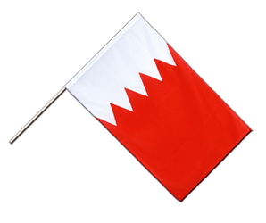Bahrain - Hand Waving Flag ECO 2x3 ft