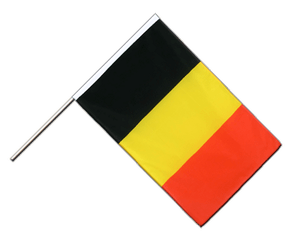Belgium Hand Waving Flag ECO 2x3 ft