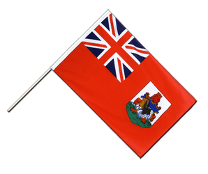 Bermuda Hand Waving Flag ECO 2x3 ft