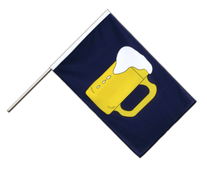 Beer - Hand Waving Flag ECO 2x3 ft