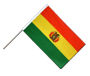 Bolivia Hand Waving Flag ECO 2x3 ft