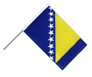 Bosnia-Herzegovina Hand Waving Flag ECO 2x3 ft