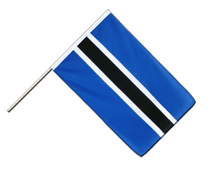 Botswana Hand Waving Flag ECO 2x3 ft