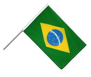Brazil Hand Waving Flag ECO 2x3 ft