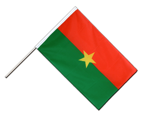 Burkina Faso - Hand Waving Flag ECO 2x3 ft