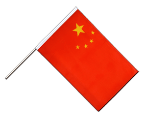 China - Stockflagge ECO 60 x 90 cm