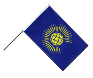 Commonwealth Hand Waving Flag ECO 2x3 ft