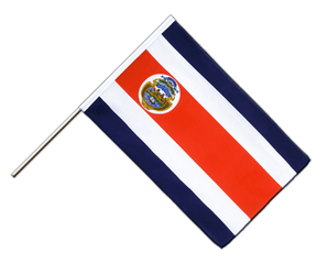 Costa Rica Hand Waving Flag ECO 2x3 ft